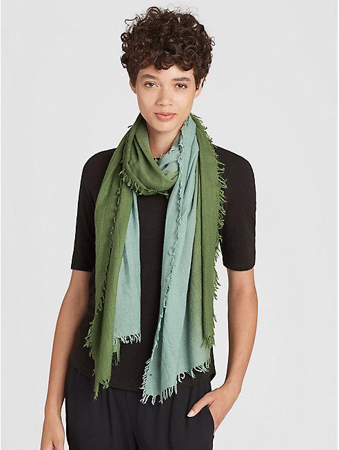 Silk Cashmere Ombre Scarf
