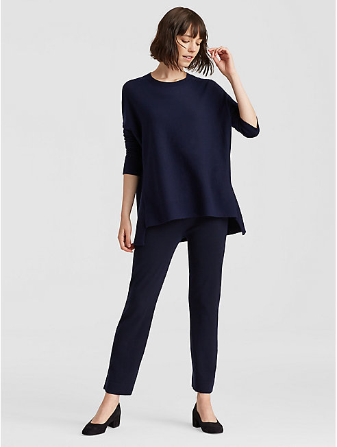 Luxe Merino Stretch Boot-Cut Pant