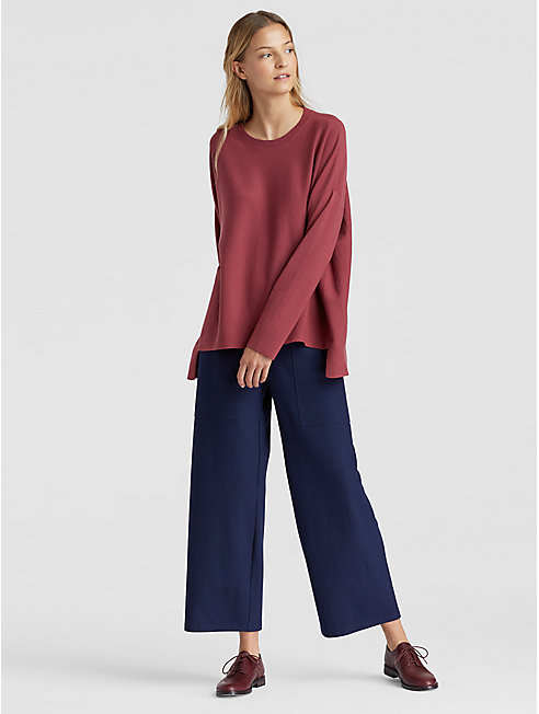 Luxe Merino Stretch Box-Top