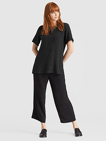 Morse Code Tencel Viscose Box-Top