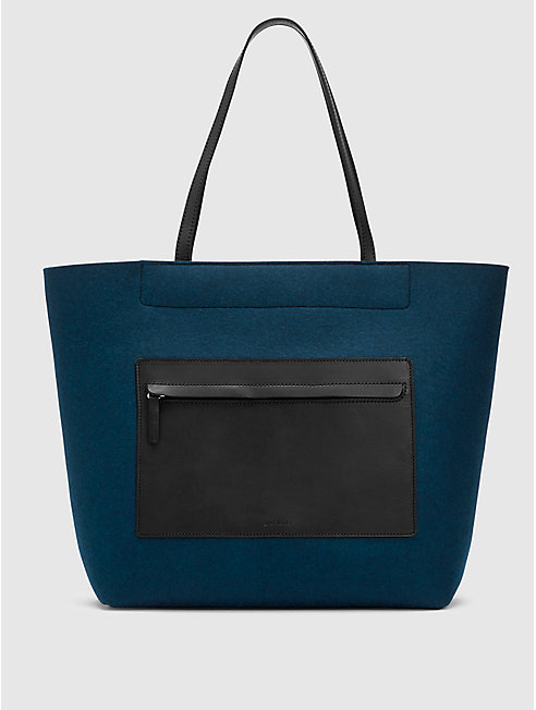 Pocket Tote by Graf Lantz for EILEEN FISHER