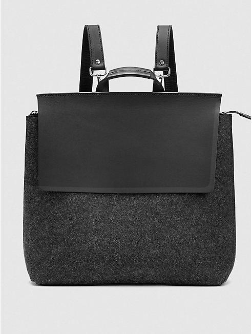 Convertible Backpack Shoulder Bag by Graf Lantz for EILEEN FISHER
