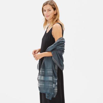 Organic Cotton Silk Shimmer Wrap