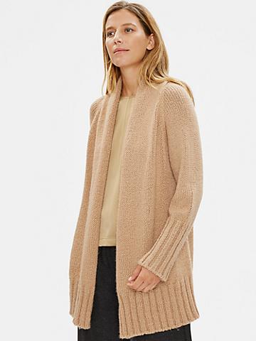 Limited Edition Merino Cashmere Silk Cardigan