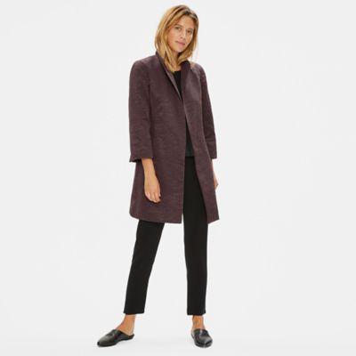 Organic Cotton High Collar Jacket
