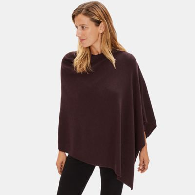 Fine Merino Poncho in Responsible Wool