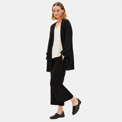 Corded Tencel Bracelet-Sleeve Jacket
