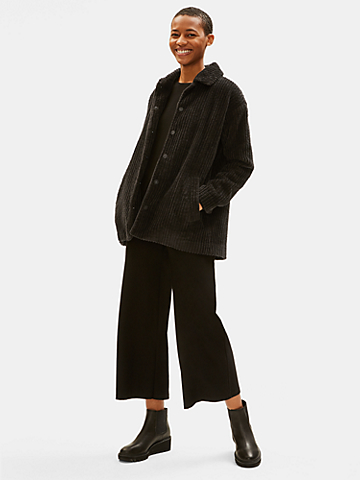 Organic Cotton Corduroy Coat