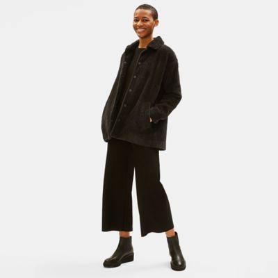 Organic Cotton Corduroy Coat