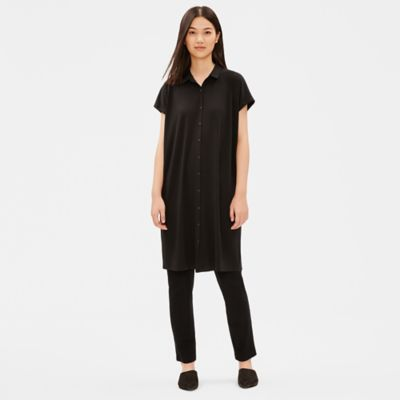 Tencel Jersey Shirtdress