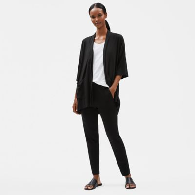 Tencel Jersey 3/4-Sleeve Cardigan