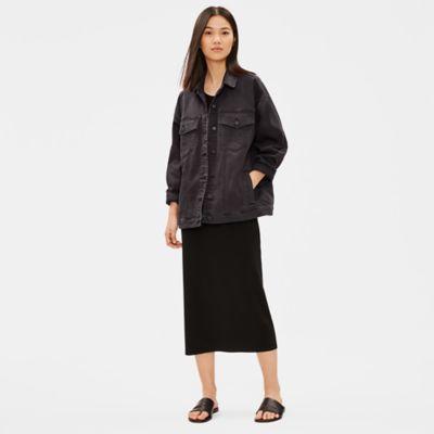 Organic Cotton Oversized Denim Jacket