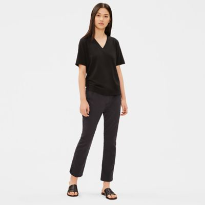 Organic Cotton Flare Cropped Jean
