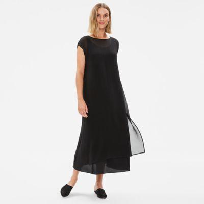 Sheer Silk Georgette Layering Dress