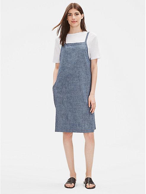 Hemp Organic Cotton Chambray Dress