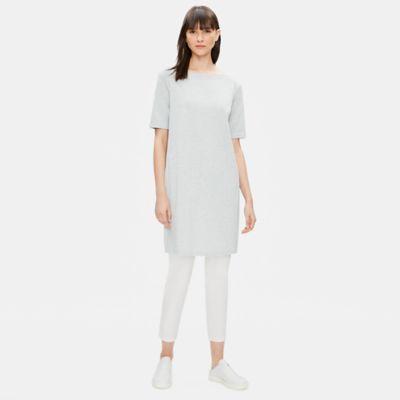 Organic Cotton Speckle Knit Dress