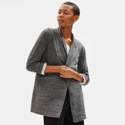 Organic Cotton Raw Edge Jacket