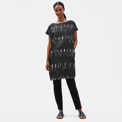 Lightning Silk Shibori Dress