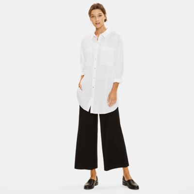 Organic Cotton Classic Collar Long Shirt