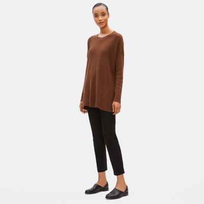 Organic Cotton Silk Round Neck Tunic