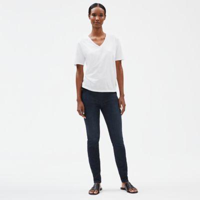 Organic Cotton Stretch Jean Leggings