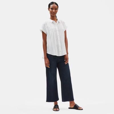 Organic Cotton Wide-Leg Jean