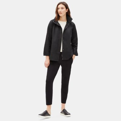 Organic Cotton Twill Hooded Jacket