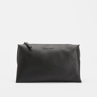 Grainy Italian Leather Pouch