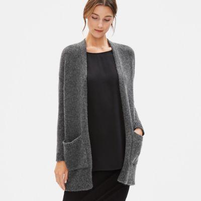 Airspun Wool Mohair Cardigan