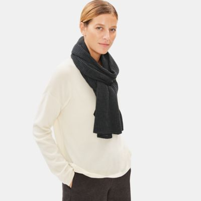 Fine Merino Scarf in Responsible Wool