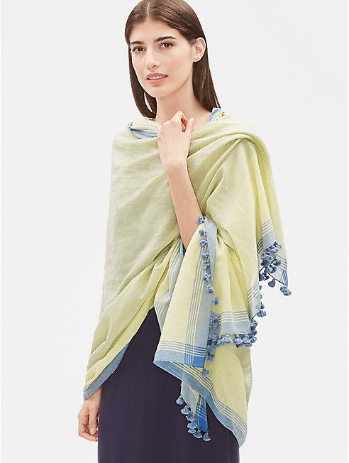 Handloomed Organic Cotton Wrap