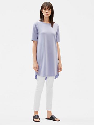 Organic Cotton Stretch Shift Dress