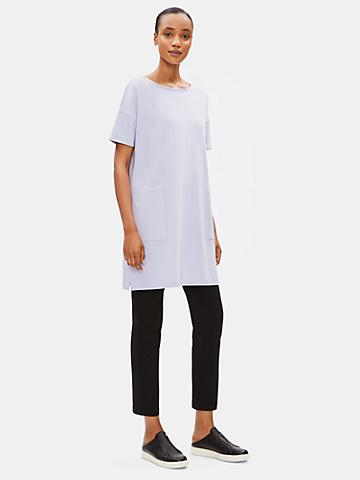 Organic Cotton Stretch Long Tunic