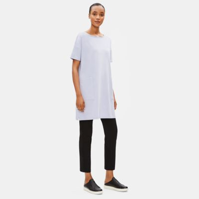 Organic Cotton Stretch Long Tunic