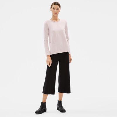 Organic Cotton Stretch Pocket Top
