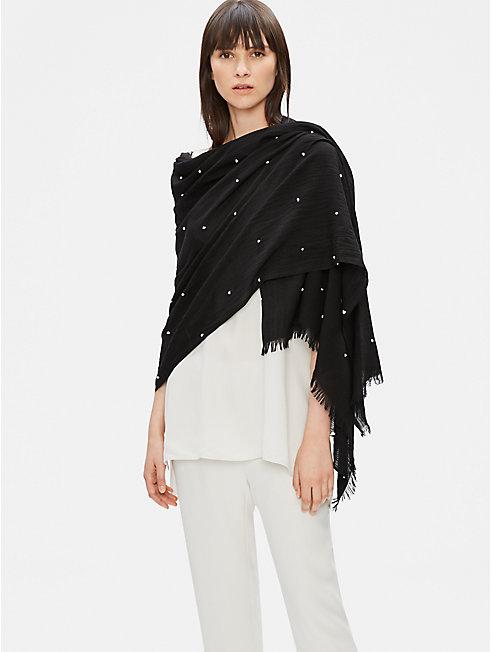 Tencel Organic Cotton Dot Wrap