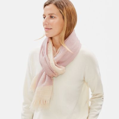 Airy Linen Cashmere Scarf