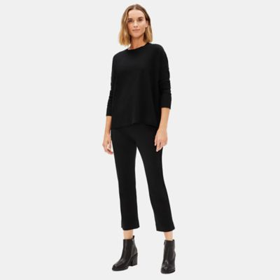 Luxe Merino Stretch Boot-Cut Pant in Responsible Wool