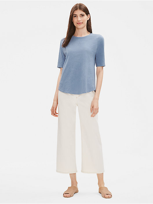 aa075038 Petite Tunic Tops and Womens Shirts | EILEEN FISHER