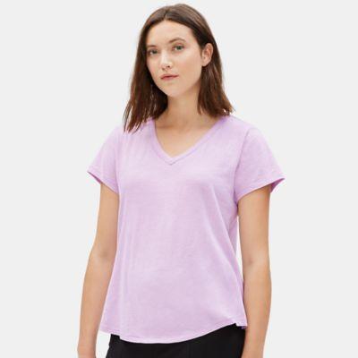 Organic Cotton Slub Shirttail Tee