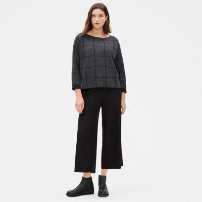 Fine Merino Box-Top in Responsible Wool