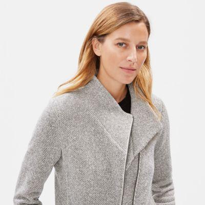 Organic Cotton Terry Moto Jacket