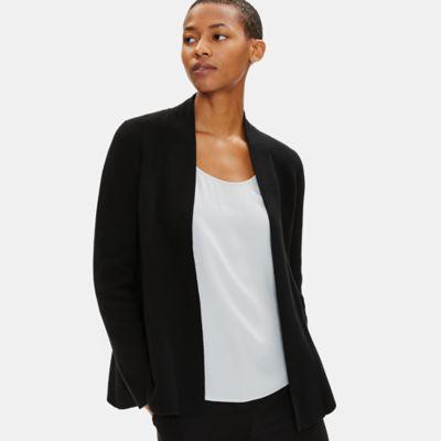 Soft Organic Cotton Shaped Cardigan
