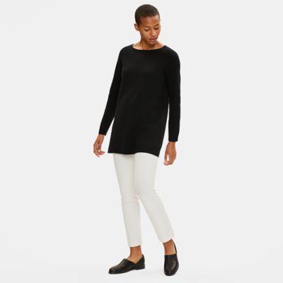 Soft Organic Cotton Ballet Neck Tunic