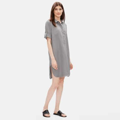 Tencel Linen Shirtdress