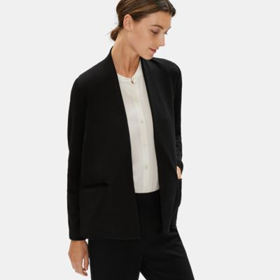 Tencel Ponte High Neck Jacket