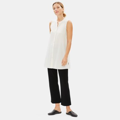 Tencel Ponte Flare Ankle Pant
