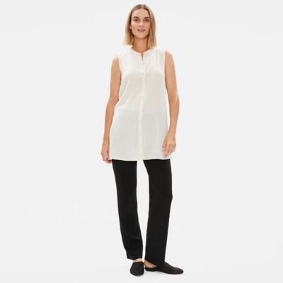 Tencel Ponte Straight Pant