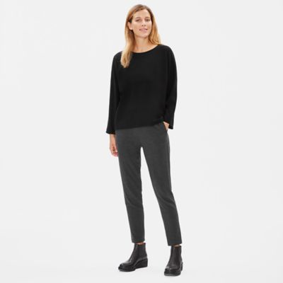 Tencel Ponte Box-Top