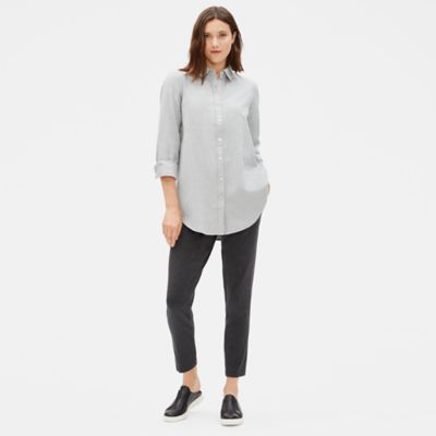 Organic Cotton Flannel Twill Shirt